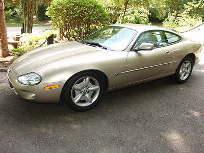 Jaguar : XK8 XK8 JAGUAR XK8 COUPE auto 1997 LOW MILEAGE 51k orig $67,000 clean/exc 13,900 topaz