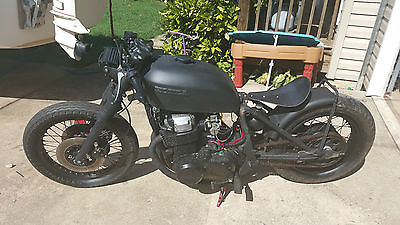 Honda : CB 1976 honda cb 750 bobber chopper rat bike