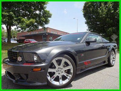 Ford : Mustang SALEEN S281 RED FLAG EDITION 1 OF 100 BUILT! 4.6 l supercharged leather shaker sound clean carfax 13 k original miles