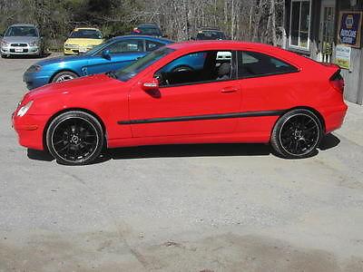 Mercedes-Benz : C-Class Kompressor Coupe 2-Door 2003 mercedes benz c 230 kompressor coupe 2 door 1.8 l supercharged
