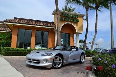 Dodge : Viper R/T-10 Convertible 2-Door 1999 dodge viper rt 10 only 1 145 miles one owner conolly cognac leather