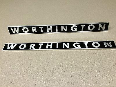 TRACTOR EMBLEM - WORTHINGTON