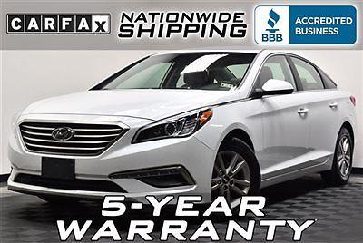 Hyundai : Sonata 4dr Sedan 2.4L SE Like New 21k We Finance Nationwide Shipping 5 Year Warranty Factory Warranty