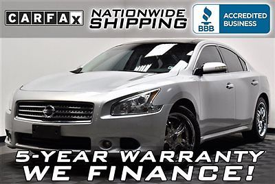 Nissan : Maxima SV V6 Loaded SV V6 Panoramic Leather Nationwide Shipping 5 Year Warranty Leather