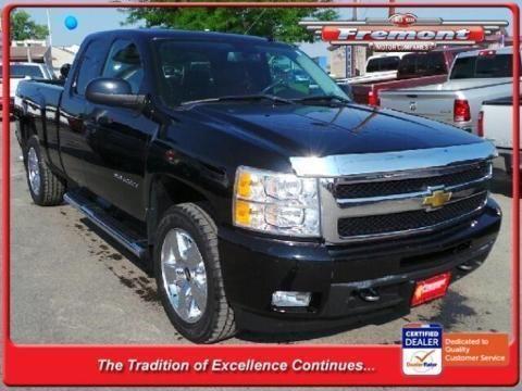 2011 CHEVROLET SILVERADO 1500 4 DOOR EXTENDED CAB TRUCK