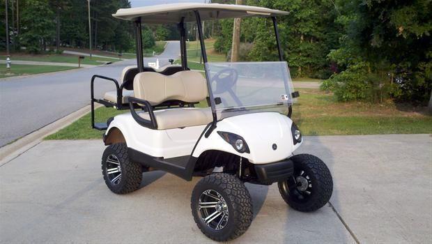 Customize a 2011 Yamaha Gas Golf Cart