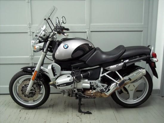 1999 BMW R1100R, Black and silver, excellent condition, 26k miles