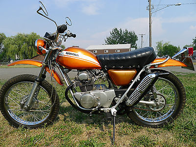 Honda : Other 70 honda sl 175 k 0 cb cl ct trail enduro scrambler vintage other 125 350 750