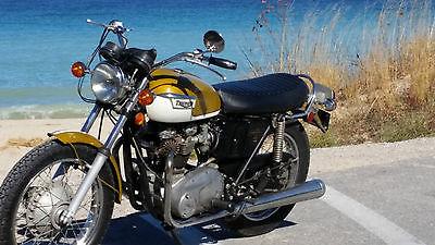 1972 Triumph Bonneville T120 Motorcycles For Sale
