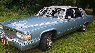 Cadillac : Brougham Base Sedan 4-Door 1990 cadillac brougham base sedan 4 door 5.7 l