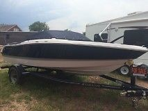 2014 Four Winns H180 Fiberglass Boat Navy Blue with Trailer New with Warranty