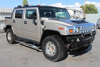 Hummer : H2 . 2005 hummer h 2 repairable fixable damaged save wrecked rebuilder project