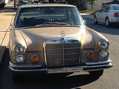 Mercedes-Benz : 200-Series 4.5 1973 mercedes benz 280 se 4.5 4.5 l 280 se california car nearly rust free no rot