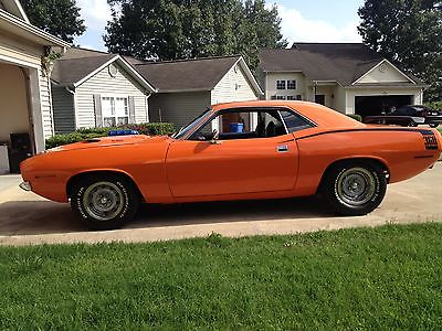 Plymouth : Barracuda CUDA 72 cuda 360