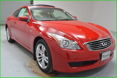 Infiniti : G37 AWD Coupe 2 Doors Sunroof Leather heated seats FINANCING AVAILABLE!! 55k Miles Used 2009 Infiniti G37x Coupe All-wheel Drive