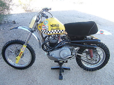 Norton : TrackMaster Custom Desert/MX TRACKMASTER NORTON 750 GROUND POUNDER Vintage CLUB Desert MX MotoCross Enduro