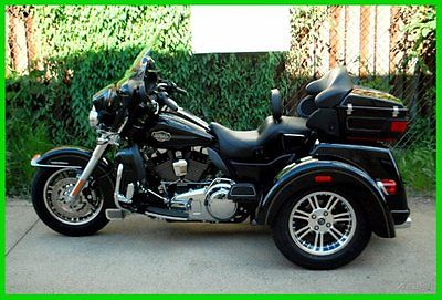 Harley-Davidson : Other 2011 harley davidson trike tri glide ultra classic very low miles nice upgrades