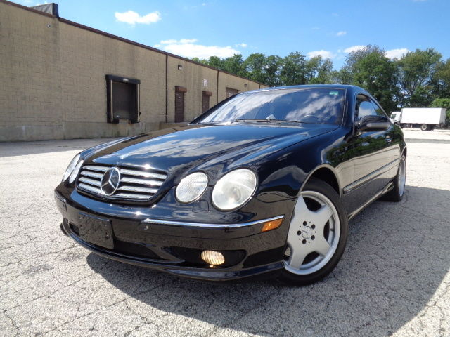 Mercedes-Benz : CL-Class 2dr Cpe 5.8L 2002 mercedes benz cl 600 v 12 amg sport loaded accident free wood trim 106 k