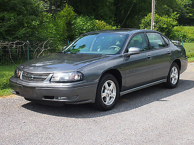 Chevrolet : Impala LS 2004 chevrolet impala ls only 118 k rear spoiler leather new tires