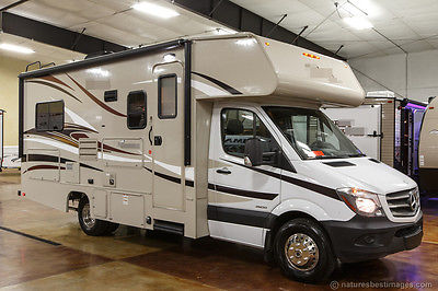 New 2016 2150 Class C Diesel Motorhome with Slide Out Mercedes Benz Chassis