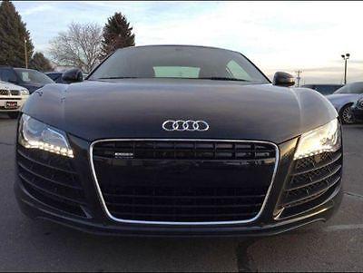Audi : R8 R8 2008 audi r 8 awd phantom black pearl effect
