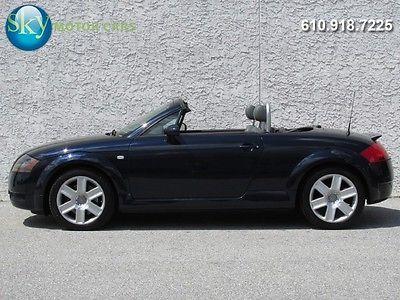 Audi : TT Quattro AWD 225 hp quattro awd 6 speed bose heated leather seats cabriolet