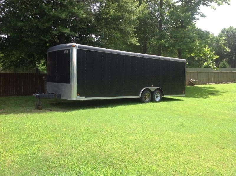 24 Foot long race car trailer for sale