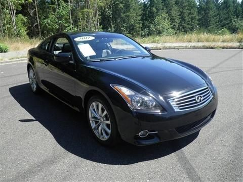 2011 INFINITI G37X 2 DOOR COUPE