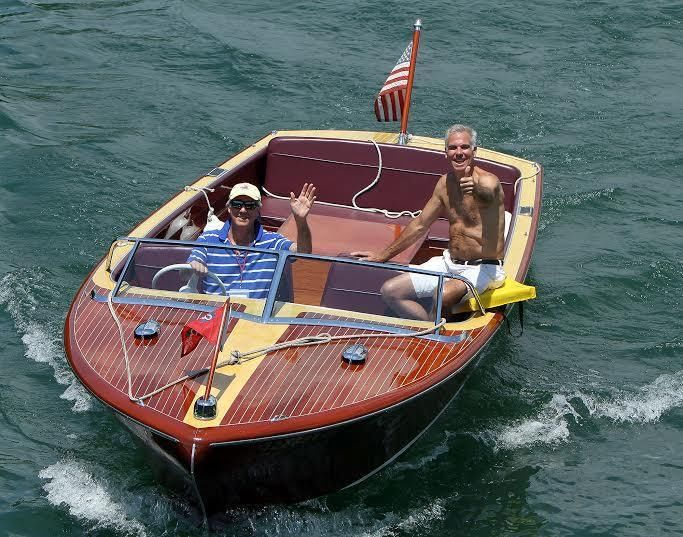 22' 1955 Chris Craft Continental