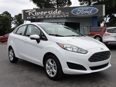 2015 FORD FIESTA 4 DOOR SEDAN