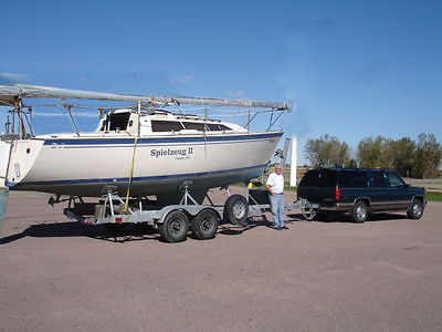 1987 O'Day 272 Sailboat with trailer
