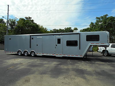 2014 ATC Aluminum Quest 46' Living Quarters Toy Hauler Dealer Demo