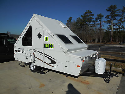 2012 Rockwood Premier A-Liner Style Camper, 2000 Pounds,  Loaded, Video Tour