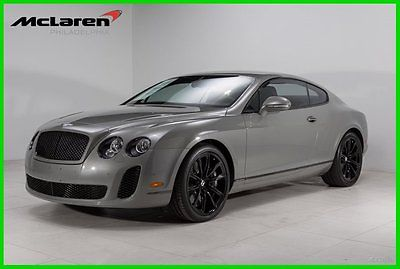 Bentley : Continental GT Supersports Coupe 2-Door 2010 used turbo 6 l w 12 48 v automatic awd coupe premium