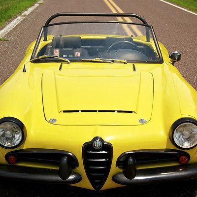 Alfa Romeo : Other Alfa Romeo Giulietta 1957 alfa romeo giulietta roadster pininfarina design original veglia gauges