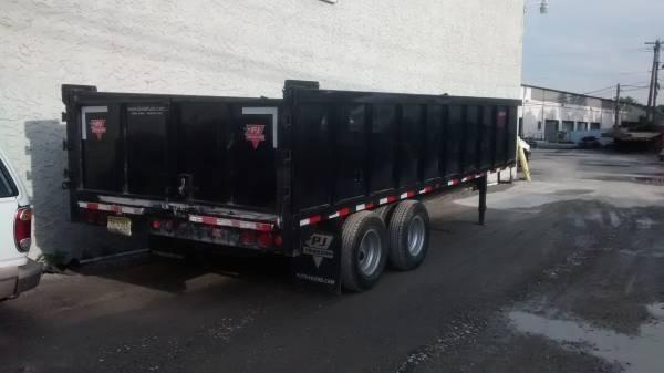 Dump trailer/Flatbed