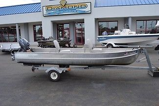 Alumacraft 14FT 2005 4 HP Yamaha 4 Stroke