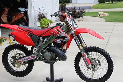 Honda : CR 2004 honda cr 250 must see