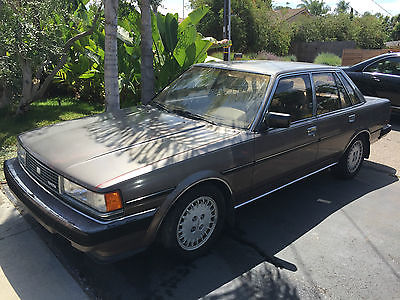 Toyota : Cressida Luxury  1986 toyota cressida luxury sedan as is amazing deal 1597