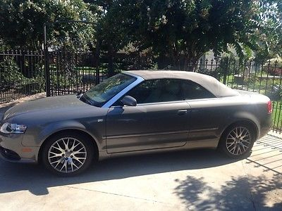 Audi : A4 2.0+ 2009 audi a 4 cabriolet convertible 2 door 2.0 l