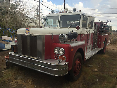 Other Makes : S 1976 maxim s fire truck