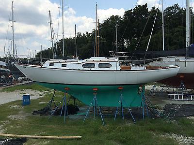 1967 Bristol 35 Sloop Diesel Auxiliary 5 Foot Draft  New Sails, Harken Furler