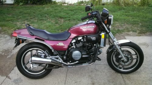 1983 v45 honda sabre motorcycles for sale. Black Bedroom Furniture Sets. Home Design Ideas