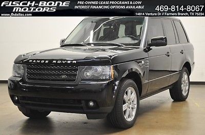 Land Rover : Range Rover HSE LUX 11 ranger rover hse lux heated cooled leather harman kardon nav sunroof