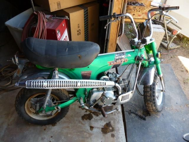 1971 Honda ct 70 H & 2 parts bikes