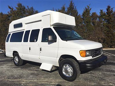 2006 Ford E350 Wheelchair Ambulette Van For Adults Medical Transport Just 42K Mi