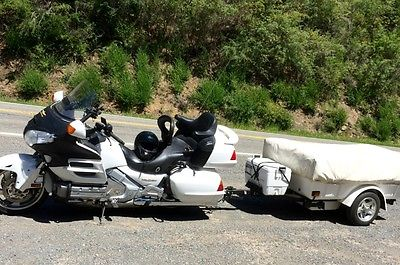 Honda : Gold Wing Honda Goldwing w/tow camper and accesories  - $14,000