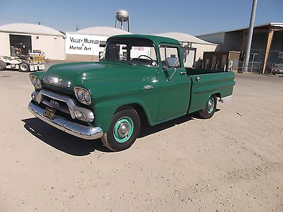 GMC : Other Apache 100 1959 gmc 100 fleetside big back window pickup