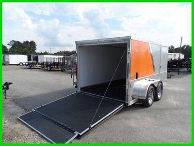 2015 look 7x12 low hauler enclosed cargo toy hauler trailer New