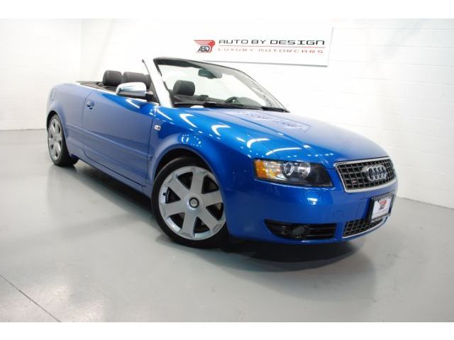 Audi : S4 Cabriolet BEAUTIFUL BLUE! 2005 Audi S4 Cabriolet - Fully Serviced & inpected! MINT!